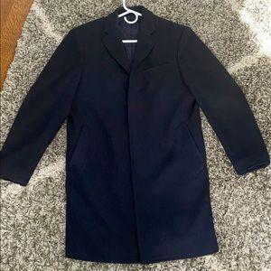 Mens Banana Republic Wool Coat